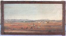 hst marouflée sur bois orientaliste Raphael Oran 1878 peinture tableau