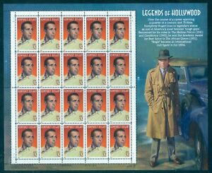 US 3152 Humphrey Bogart, 1997 Legends sheet/20, Mint NH, Free Shipping