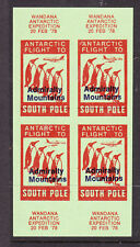 CINDERELLA: WANDANA ANTARCTIC EXPEDITION 1978 OV/PR ADMIRALTY MOUNTAINS M/S...