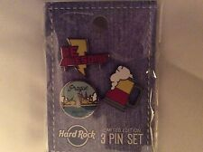 HARD ROCK CAFE PRAGUE 2017 MINI 3 PIN SERIE 17 LIMITED WORLD EDITION