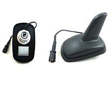 Shark Dachantenne Radio Antenne mit 2 Empfangsverstärker für Opel Peugeot Skoda
