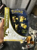Pokemon 025 Pikachu 20th Anniversary Limited Edition Mini Figures Tomy Nintendo