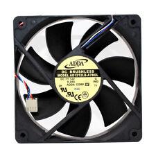 ADDA AD1212LB-A7BGL 12V 0.24A 120*120*25MM 12CM 4Pin Cooling Fan