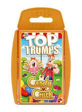 TOP TRUMPS CANDY CRUSH SODA SAGA GAME BRAND NEW