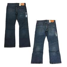 Levi's Levi Strauss Men's 527 Slim Fit Low Rise Stretch Denim Bootcut Jeans
