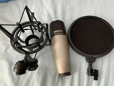 More details for samson c01 studio condenser recording mic. mint!