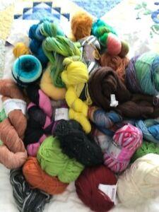 Massive Job Lot of Knitting Wool - Merino, Cotton and Acrylic