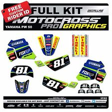 YAMAHA PW50 MOTOCROSS  MX Graphics Decals Stickers Decallab