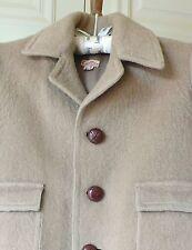 Vintage 1950s Boys Wool Mohair Coat CORONA Hand Made Jacket Size/Age 5