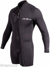 NeoSport Waterman 7mm Step-in Jacket Scuba Diving Wetsuit Men's Black All Sizes