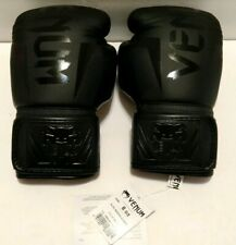 Venum elite boxing gloves 8 oz Black