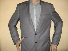 NEW WITH TAGS SILVER GREY SINGLE BREASTED FASHION SUIT 42R CHEST 32 WAIST 32 LEG