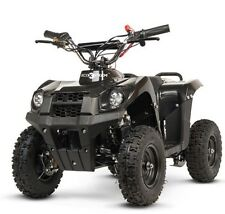 Quad electrico niños 800w 36v junior moto Off Road 4 ruedas todoterreno negro