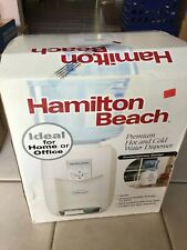New Hamilton Beach Premium Hot and Cold Water Dispenser Table Top