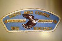 OA SCIOTO AREA COUNCIL SCOUT PATCH CSP GMY OHIO KENTUCKY BIRD SERVICE FLAP