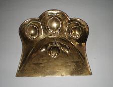 Jugendstil Antike Tischkehr Schaufel aus Messing, England 1884 - Sammlerstück