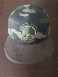 New Era cap Golden State Warriors 59Fifty 7 1/2 camo hat NEW