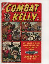 COMBAT KELLY #21 GD+ ATLAS COMICS GOLDEN AGE 1954 JOE MANEELY COVER