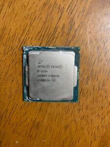Intel Xeon E-2134 Quad Core 3.5GHz / 4.5GHz LGA1151 CPU SR3WP
