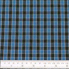 Woven Cotton Fabric FQ - Classic London Scottish Gingham Plaid Small Checked VP4