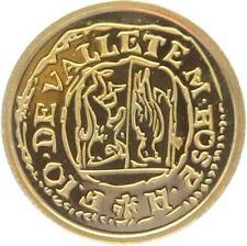 O4974 Malta 5 Euros Jean de la Vallete Picciolo 2013 OR Gold 999% BE PF PROOF
