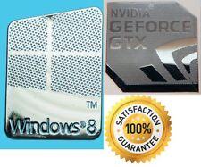 NVIDIA GEFORCE GTX + FREE WINDOWS PC 8 sticker 7 XP 10 UK Vista Computer Base