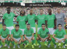 FOOTBALL CP EQUIPE  DE AS SAINT ETIENNE  2015/16