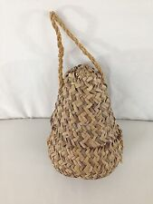 Hand Made Craft Woven Sisal Wicker Straw Jute Turkish Hanging Basket Container