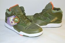 2c618c22bf30 New Reebok Pump Omni Lite MA-1 Flight Jacket Pack Moss Green Orange RARE