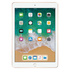 "Apple iPad 9.7"" 6th Gen 32GB Gold Wi-Fi MRJN2LL/A 2018 Model"
