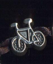 Ciondolo argentato per catena snake bicicletta