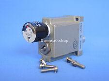 SMC ARM1000 miniature pneumatic regulator, dual channel