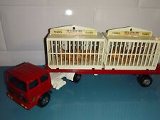 10.11.19.1 Solido cirque AMAR camion renault saviem remorque cages Tigres