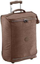 Kipling Teagan XS Cabin Sized 2 Wheeled Trolley Suitcase, 50 cm, Monkey Brown