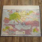 VTG 1964 Denoyer Geppert Social Sciences Classroom Map H2 Europe Charlemagne