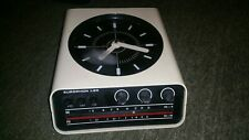 horloge + radio design vintage model europhon h20 blanc