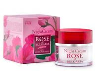 BioFresh ROSE OF BULGARIA Night Cream Women With Natural Rose Water 50ml