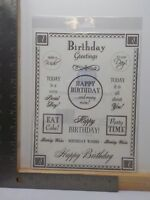 SRM STICKERS SUMMER SENTIMENTS CLASSIC STICKERS A11348