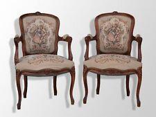 paire de cabriolet de style Louis XV