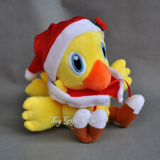 "Final Fantasy VII Plush Figure Christmas Chocobo 6"""