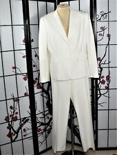 CAREER   PANTS SUIT  OFF WHITE TAHARI 16