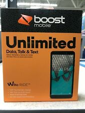 "WIKO RIDE BOOST MOBILE 5.45"" Touchscreen 16GB 5MP - Brand New Sealed"