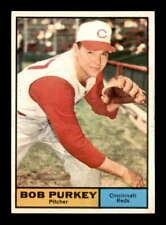 1961 Topps #9 Bob Purkey  NM/NM+ X1722925