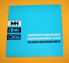 Maxhütte ca. 1958 Rosenberg Haidhof Auerbach Büchlein Buch Prospekt Booklet