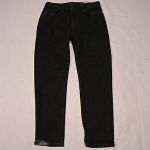 Banana Republic 30 x 30 Athletic Tapered Black Rapid Movement Denim Jeans