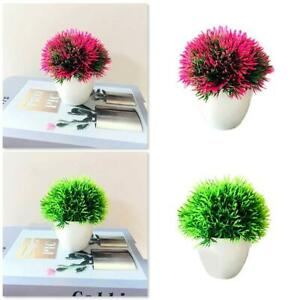 Fake Artificial Plants Hydrangea Ball Tree Plant standing Ou & L8C8 Indoor P4V8