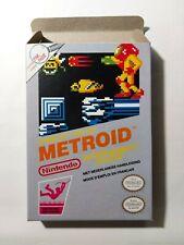 Metroid - PAL  - Nintendo  - NES - Only Box