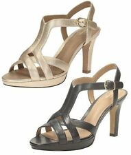 Clarks Slim Heel Formal Shoes for Women