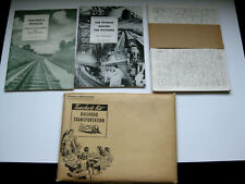 MINT / COMPLETE 1950 A Study Of Railway Train Transportation Teacher Manual Kit