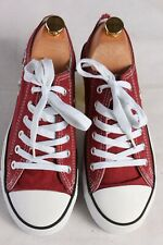 Vintage Adidas Trainer Sports Shoes Unisex 39 Maroon S681